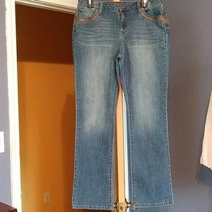 Style & Co. Denim Boot Leg Size 12P
